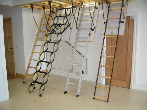 Как сделать чердачную лестницу 85