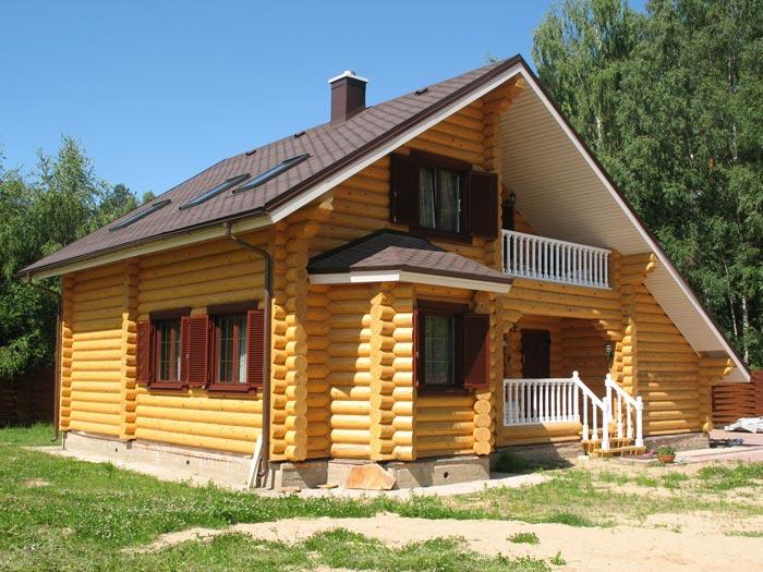 фото бревенчатого дома
