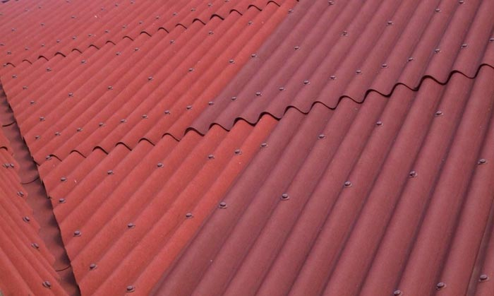 фото крыши покрытой ондулином