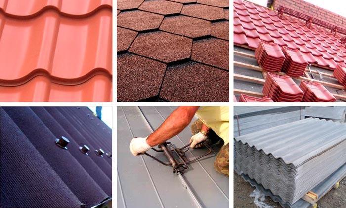 виды кровельных материалов на крышу