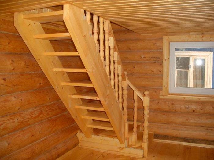 Лестница на чердак в доме своими руками