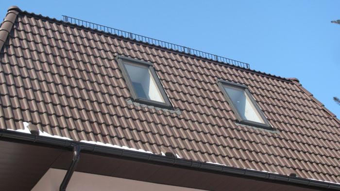 Окна в мансардной крыше