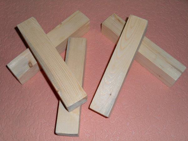 бруски для нанесения одинаковых отрезков
