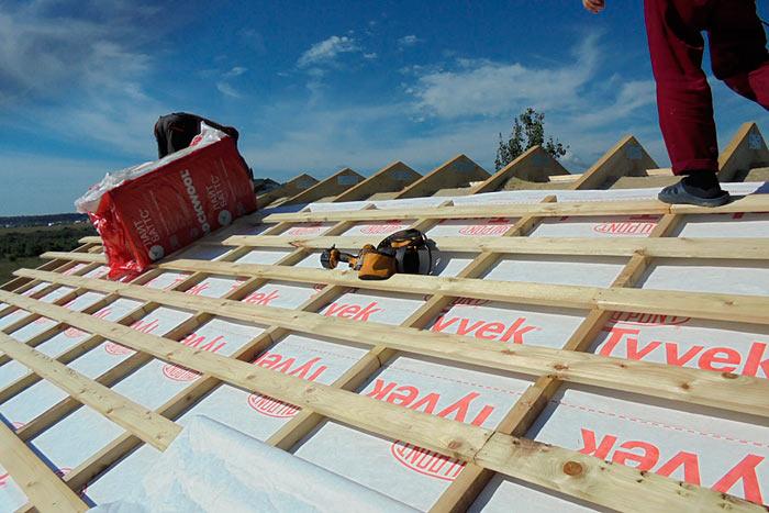 гидроизоляция под металлочерепицу на крышу
