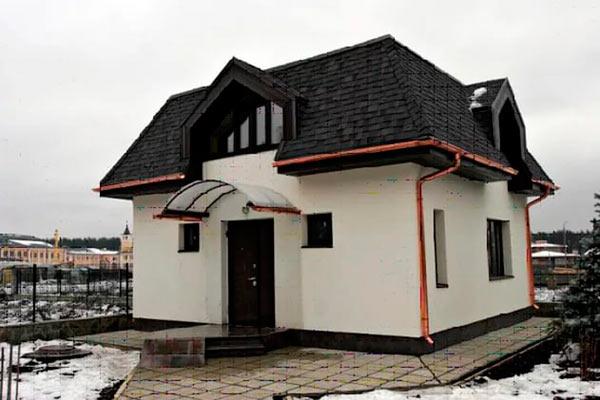 ломаная четырехскатная крыша