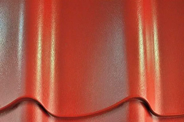 металлочерепица с покрытием пластизоль