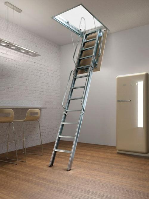 откидная чердачная лестница