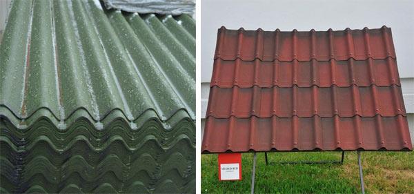 виды ондулина для крыши