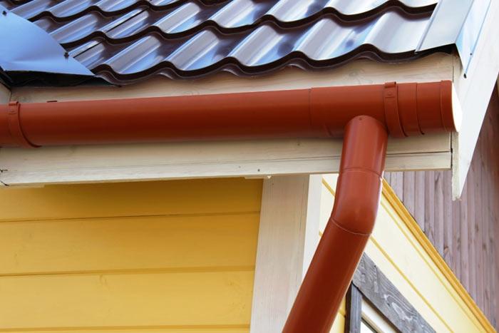 алюминиевый водосток для крыши
