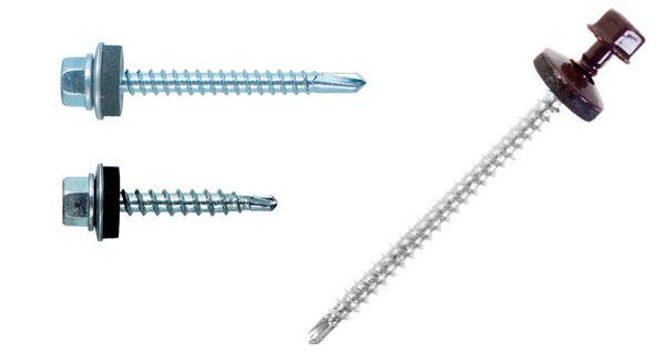 формы кровельных саморезов для металлочерепицы в зависимости от предназначения