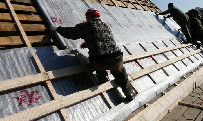 гидроизоляция крыши для профнастила