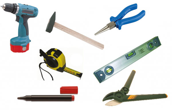 инструменты для монтажа профнастила на крышу гаража