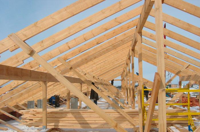 деревянные конструкции для стропильной системы