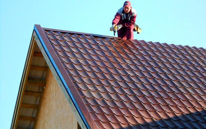 конек для крыши из металлочерепицы
