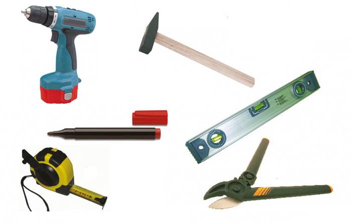 перечень инструментов для монтажа металлочерепицы