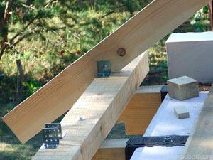 фото крепления стропил на крыше - миниатюра