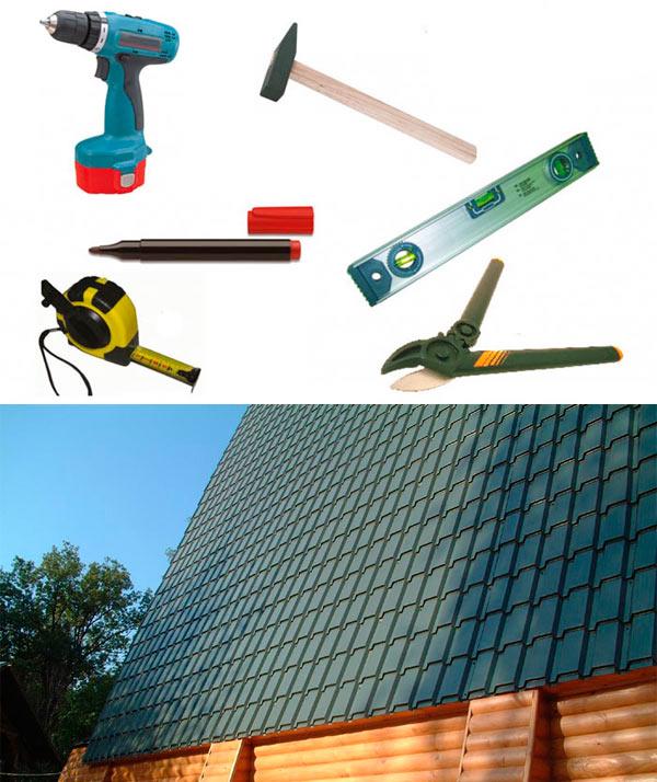 инструмент для монтажа металлочерепицы каскад