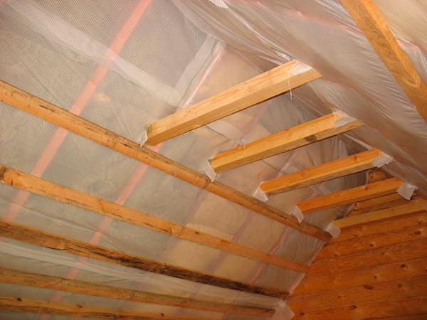 пароизоляция крыши из металлочерепицы