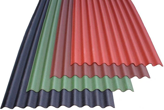 изображение ондулиновых разноцветных листов