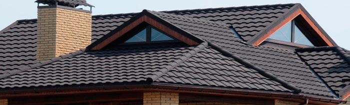 крыша из композитной металлочерепицы