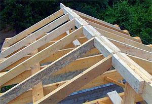 стропила двускатной крыши - миниатюра