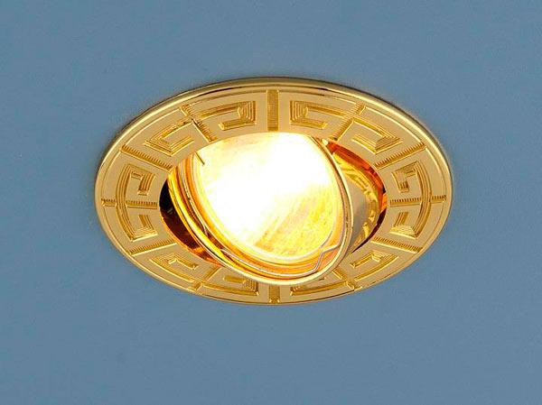 точечные светильники для натяжного потолка мансарды
