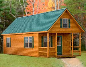 крыша дома из профилированного листа - миниатюра