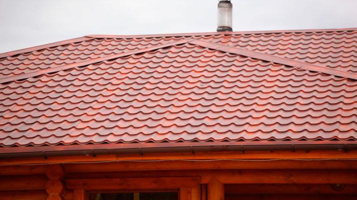 крыша из металлочерепицы супермонтеррей