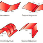 доборные элементы для металлочерепицы - миниатюра