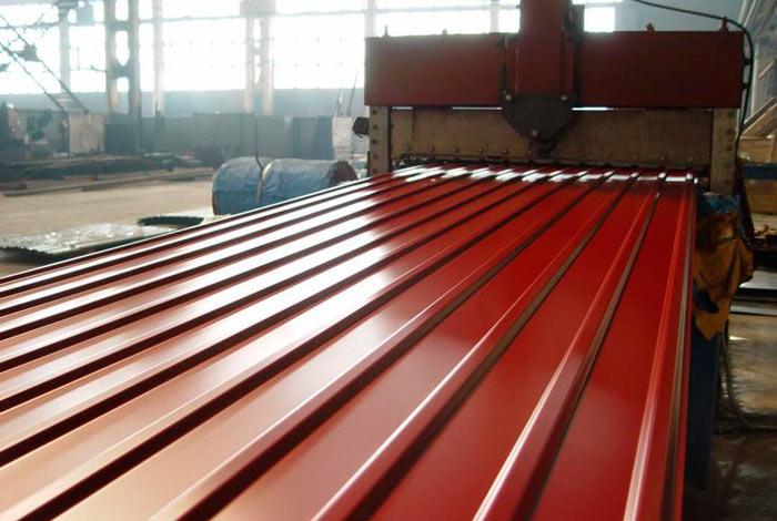 производство металлопрофиля для крыши