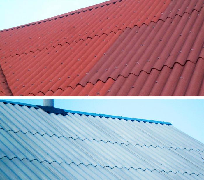 крыши из ондулина и шифера