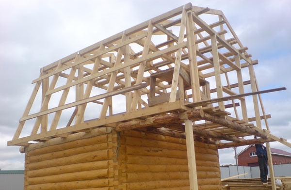 ломанная п-образная крыша